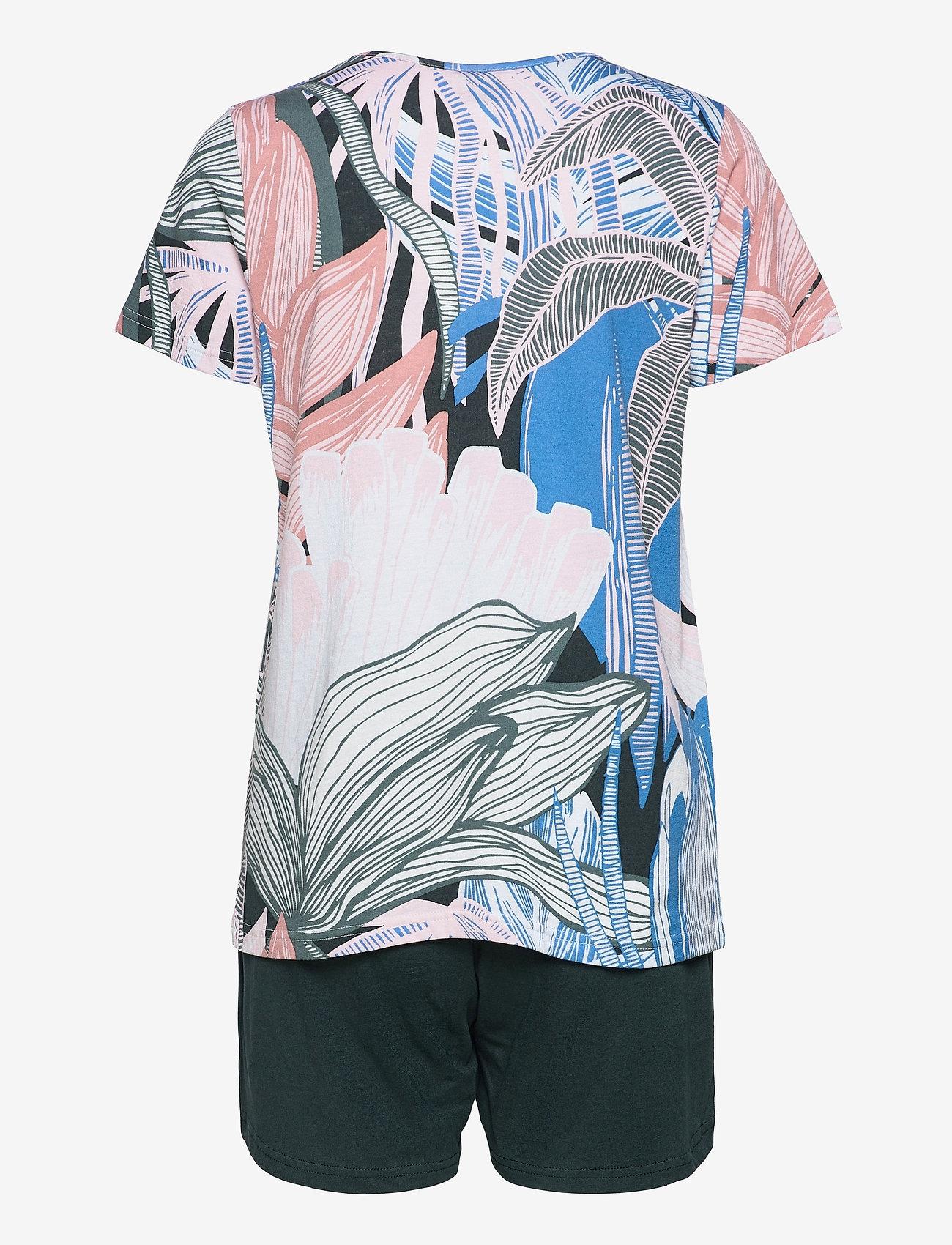 Nanso - Ladies shorts pyjamas, Tropiikki - pyjamas - multi-coloured - 1