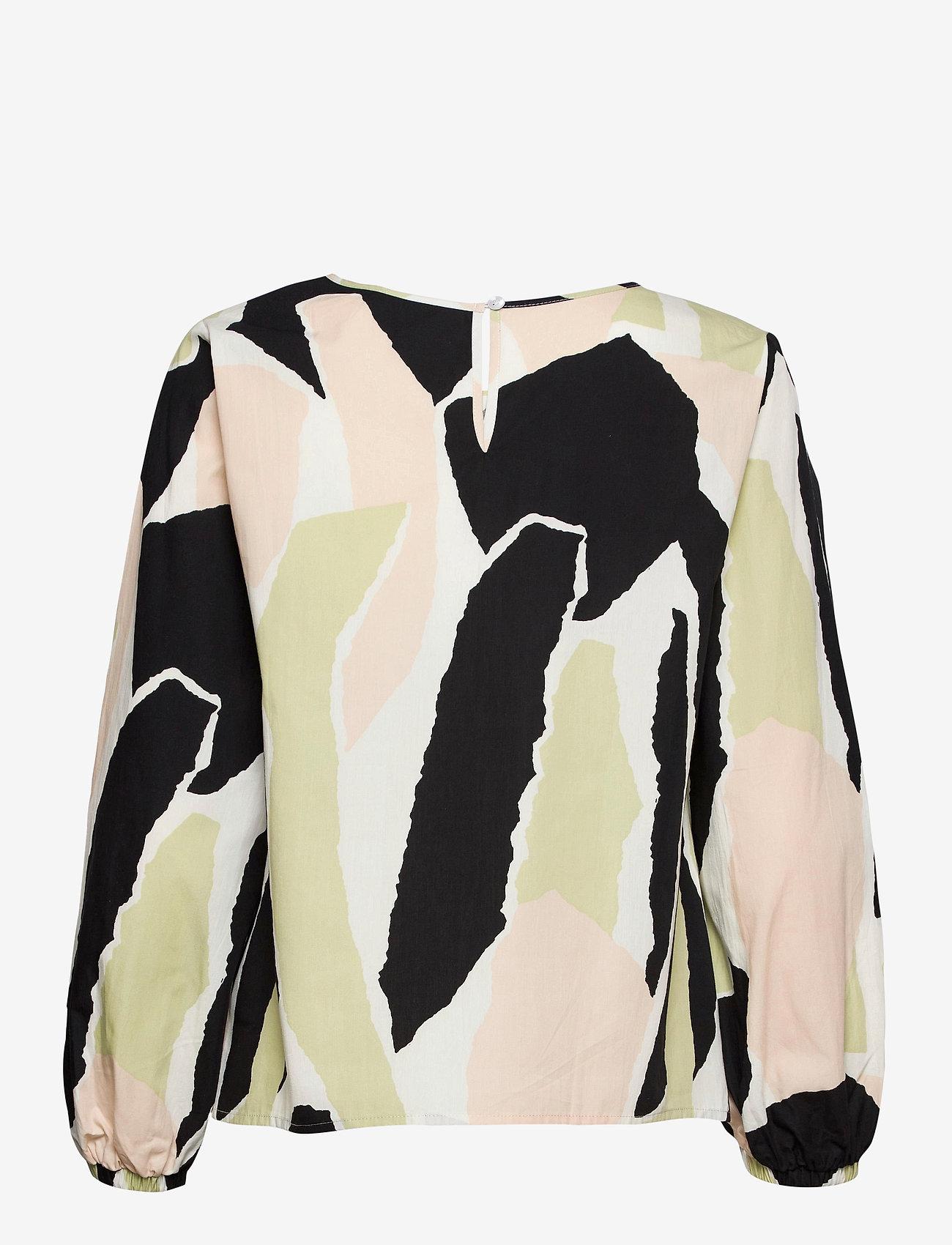 Nanso - Ladies blouse, Särö - blouses met lange mouwen - beige - 1