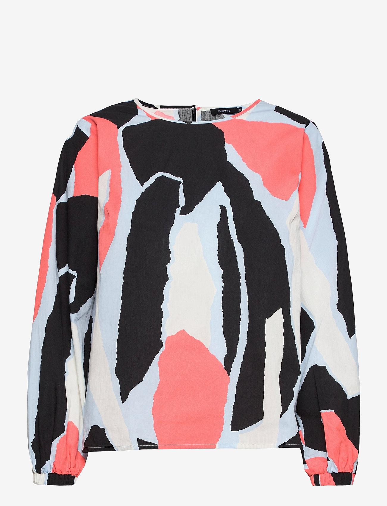 Nanso - Ladies blouse, Särö - blouses met lange mouwen - multicoloured - 0