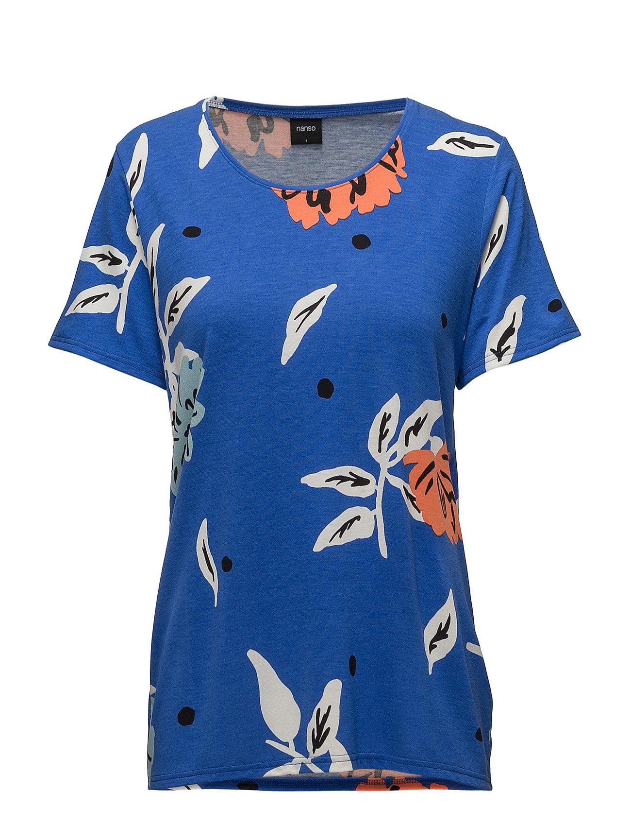 Nanso Ladies shirt, Freesia - BLUE