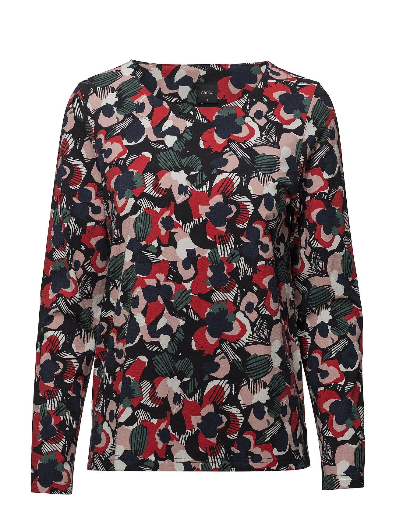 Nanso Ladies shirt, Leimu - MULTICOLOR