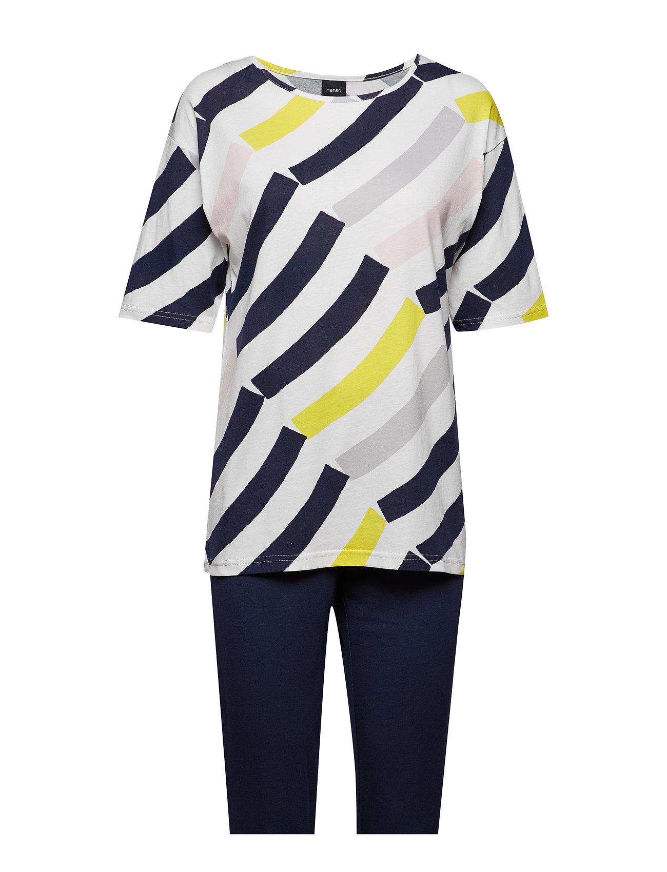 Nanso Ladies pyjamas, Värikaari Sov och loungeplagg