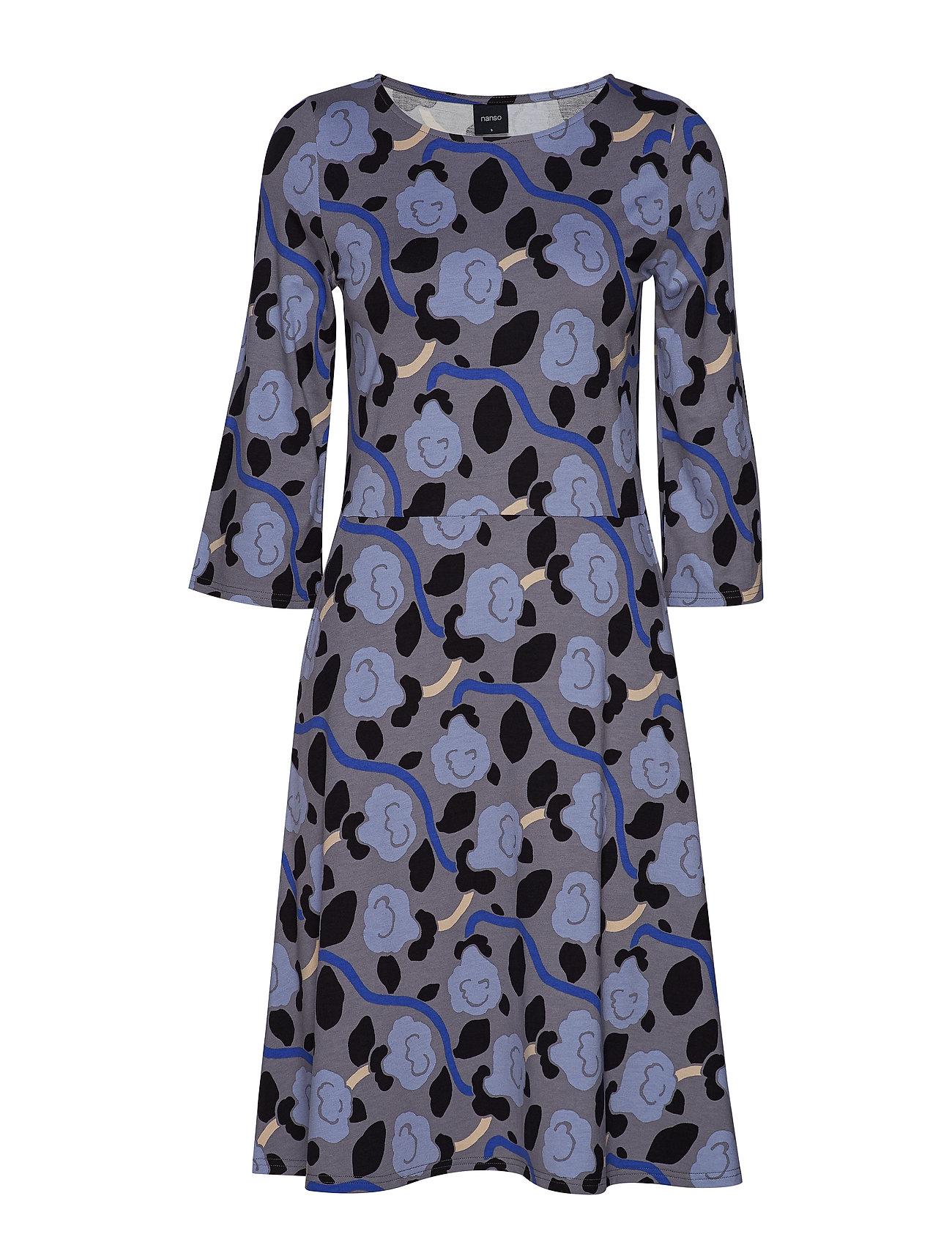 Nanso Ladies dress, Petunia - GREY