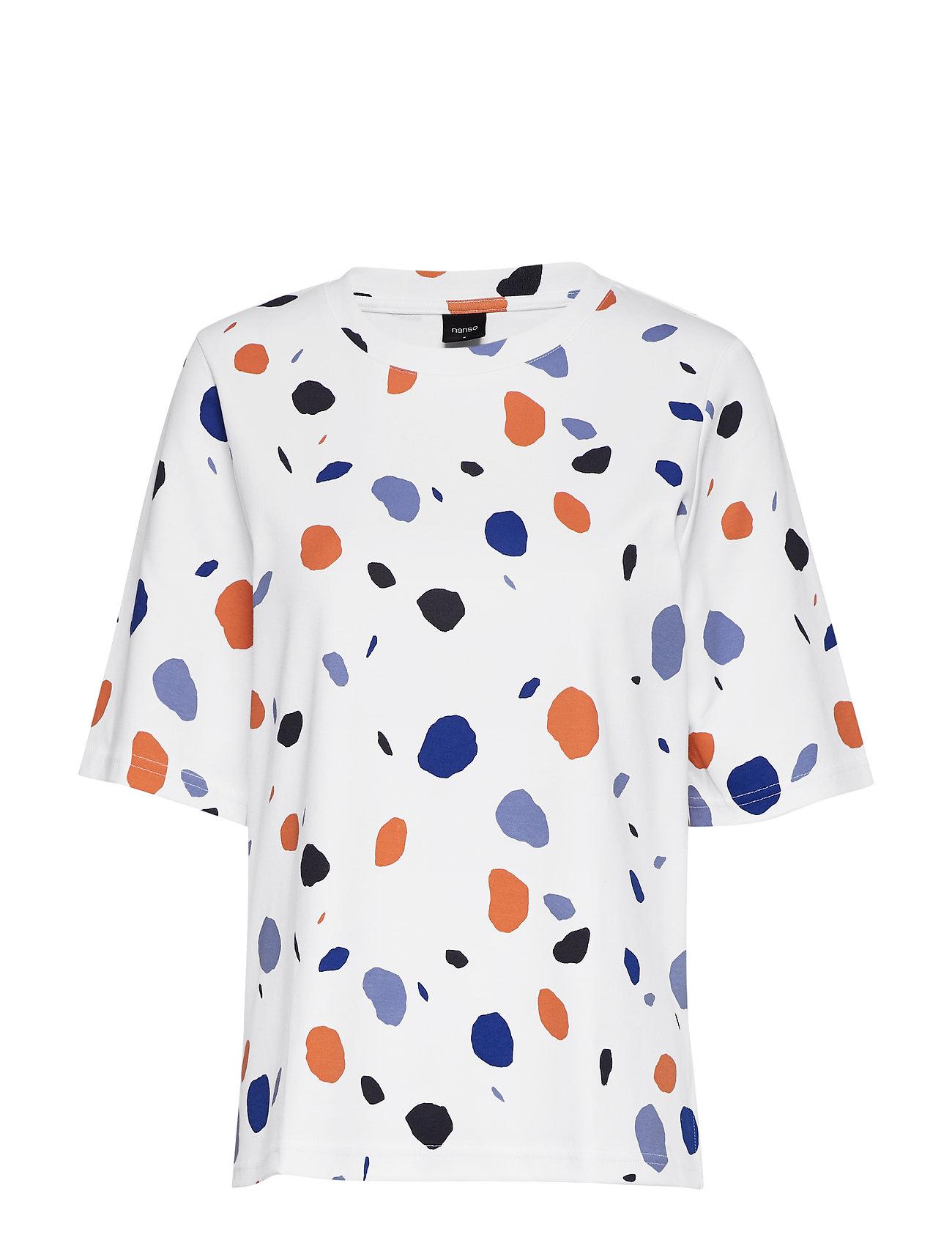 Nanso Ladies blouse, Pyörre - WHITE
