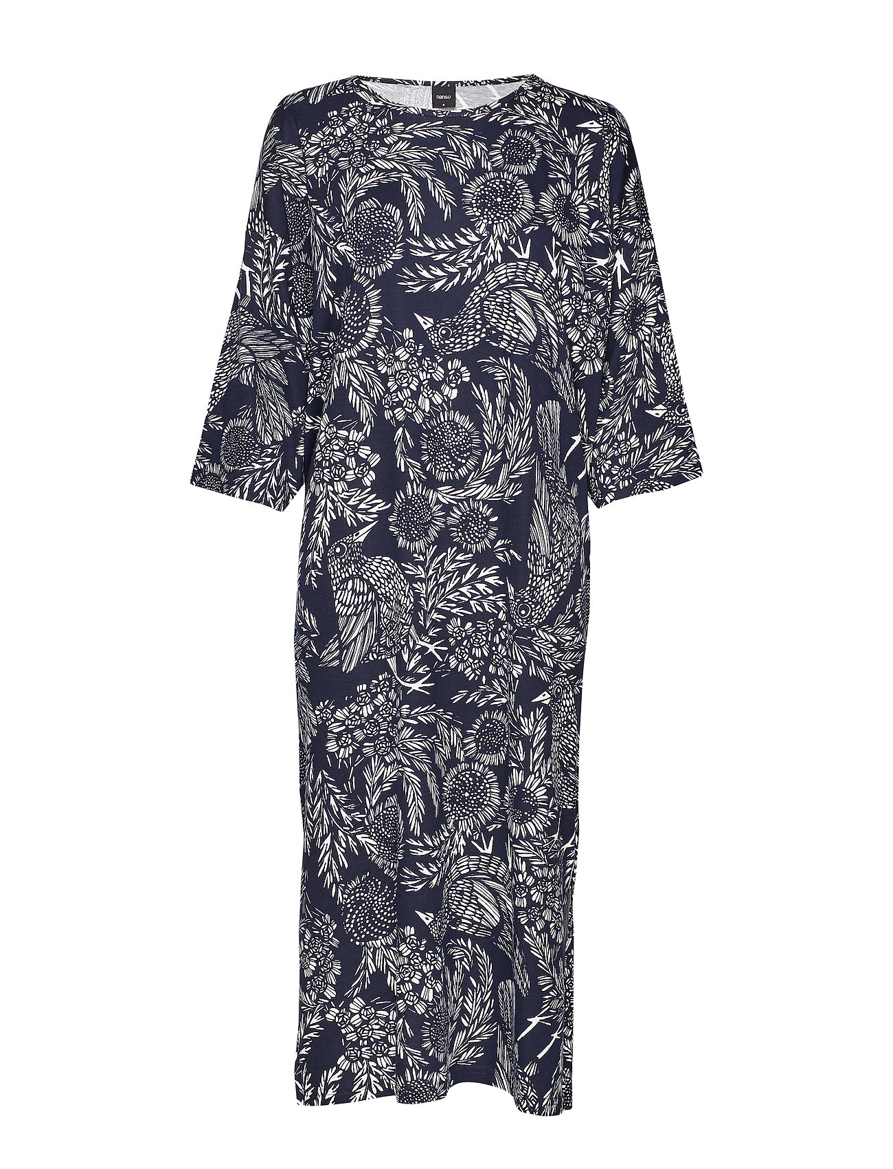 Nanso Ladies kaftan, Hilkka - DARK BLUE