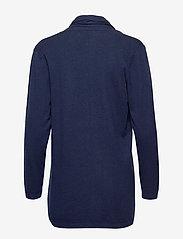 Nanso - Ladies knit cardigan, Villis - neuletakit - dark blue - 1