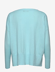 Nanso - Ladies knit sweater, Villis - neulepuserot - light blue - 1