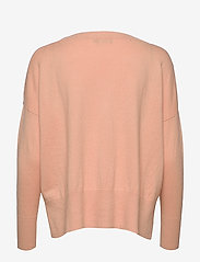 Nanso - Ladies knit sweater, Villis - neulepuserot - pink - 1