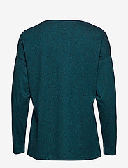 Nanso - Ladies blouse, Riisi - swetry - petrol - 1