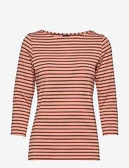 Nanso - Ladies blouse, Viiru - tops met lange mouwen - orange - 0