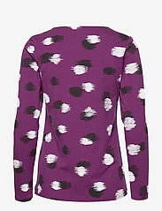 Nanso - Ladies blouse, Kastanja - tops met lange mouwen - purple - 1