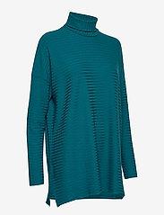 Nanso - Ladies tunic, Rib - poolopaidat - petrol - 3