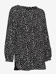 Nanso - Ladies blouse, Dippi - pitkähihaiset t-paidat - black - 3