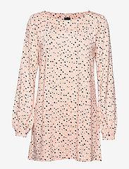 Nanso - Ladies tunic, Dippi - long sleeved blouses - pink - 0