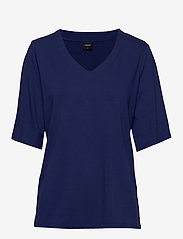 Nanso - Ladies blouse, Aava - t-shirty - blue - 0