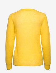 Nanso - Ladies knit sweater, Kuura - neulepuserot - yellow - 1