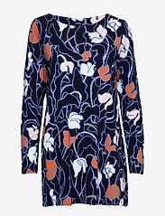 Nanso - Ladies tunic, Iiris - chemises de nuit - dark blue - 0
