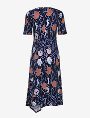 Nanso - Ladies dress, Iiris - robes midi - dark blue - 1