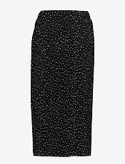 Nanso - Ladies skirt, Helinä - midinederdele - black - 1