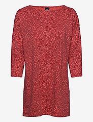 Nanso - Ladies tunic, Klippi - tunikat - red - 0