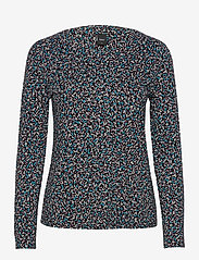 Nanso - Ladies blouse, Nomparelli - tops met lange mouwen - blue-toned - 0