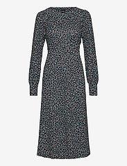 Nanso - Ladies dress, Nomparelli - midimekot - blue-toned - 0