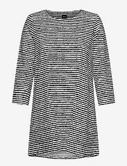 Nanso - Ladies tunic, Aprilli - tunieken - black and white - 0