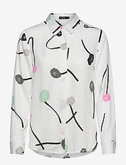 Nanso - Ladies shirt, Vuokko - blouses met lange mouwen - natural white - 0