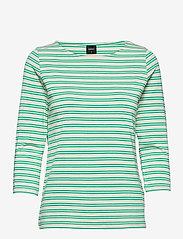 Nanso - Ladies blouse, Virna - tops met lange mouwen - green - 0