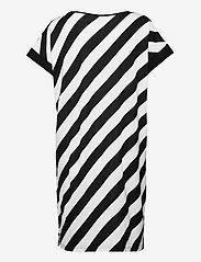 Nanso - Ladies big shirt, Kulma - nightdresses - black and white - 1