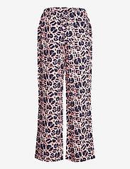 Nanso - Ladies trousers, Lulu - bukser med brede ben - light pink - 1