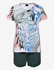 Nanso - Ladies shorts pyjamas, Tropiikki - pyjamas - multi-coloured - 0