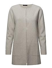 Ladies knit jacket, Milano - LIGHT BEIGE