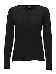 Ladies knit cardigan, Villis - BLACK