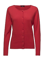 Ladies knit cardigan, Villis - RED
