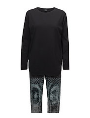 Ladies pyjamas, Usva - BLACK