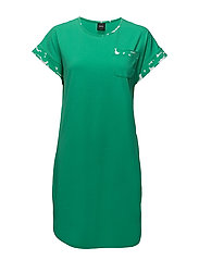 Ladies big shirt, Pallolehdet - GREEN