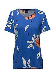 Ladies shirt, Freesia - BLUE