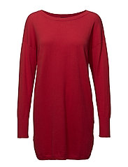Ladies knit tunic, Villis - RED
