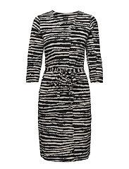 Ladies dress, Suti - BLACK