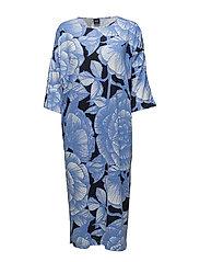 Ladies kaftan, Jalo - BLUE