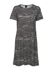 Ladies big shirt, Vuoristo - BLACK