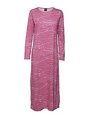 Ladies long nightgown, Vuoristo - PINK