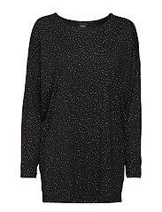 Ladies leisure wear/ tunic, Hiutale - BLACK