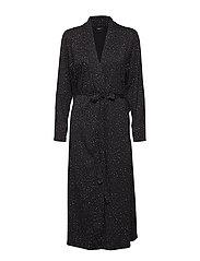 Ladies dressing gown, Hiutale - BLACK