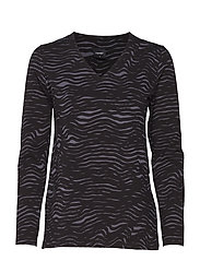 Ladies shirt, Lautturi - BLACK