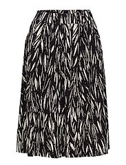Ladies skirt, Manteli - BLACK