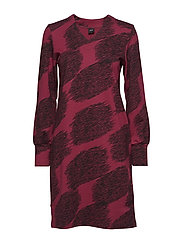 Ladies dress, Flammu - RED