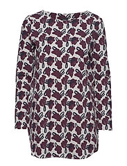 Ladies tunic, Asteri - BURGUNDY
