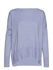 Ladies knit sweater, Villis - BLUE